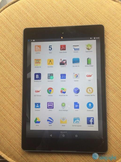 Nexus 9 đầu tiên xuất hiện tại Việt Nam