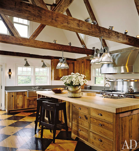 An Amazing Kitchen Architectural Digest Content In A Cottage