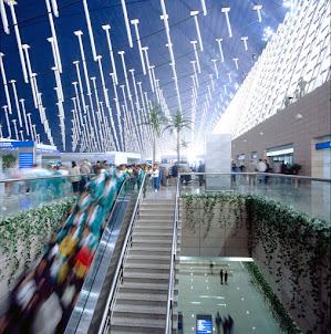 Aeropuerto Internacional de Shanghái Pudong. Enlace tren Maglev