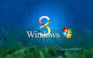 Windows 8 operating system wallpaper