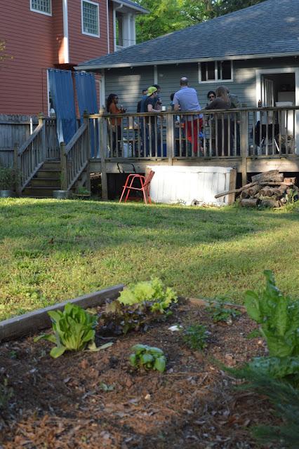 Garden - Impromptu BBQ - The City Dweller