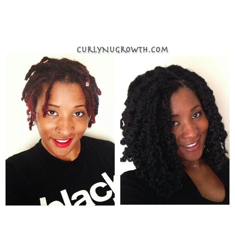 Crochet Hair Over Locs : ... it begins hair.: [Tutorial] Short Bob with Crochet Marley Hair