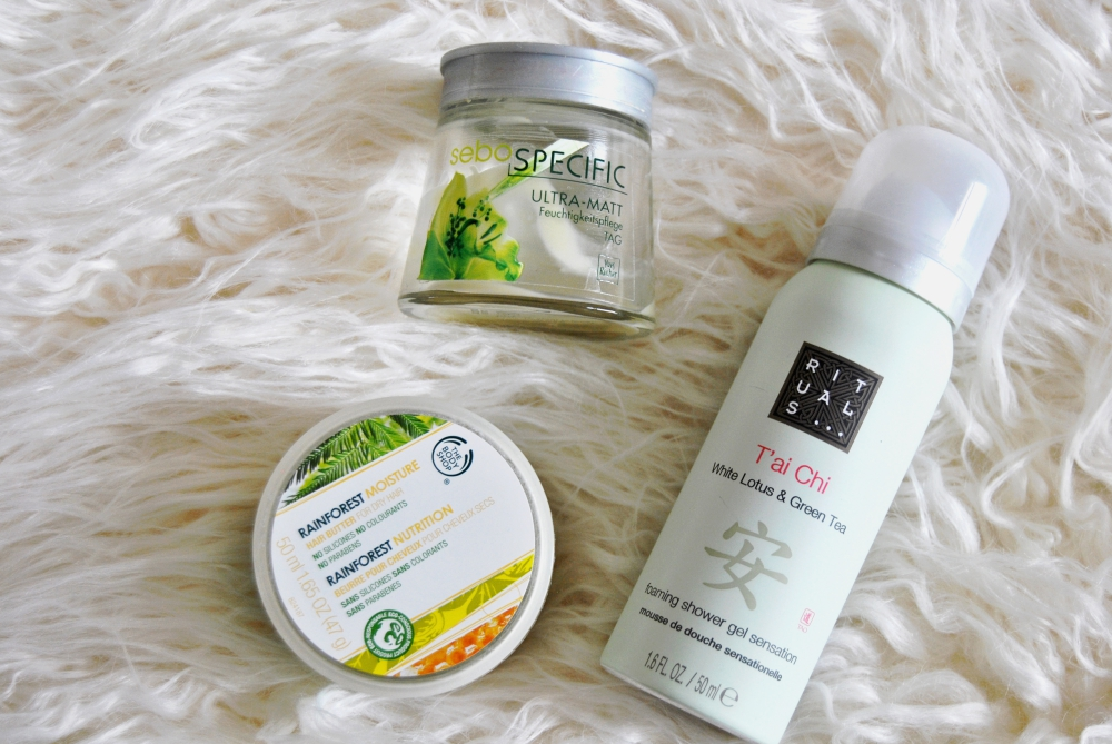 beauty empties review the body shop rainforest
