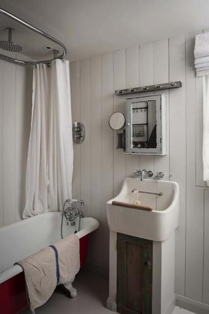 Moderner Landhausstil für Cottage - englisch im Shabby Charme Design und Einrichtung