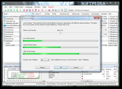 Network Monitoring & Bandwidth Management Software   NetBalancer