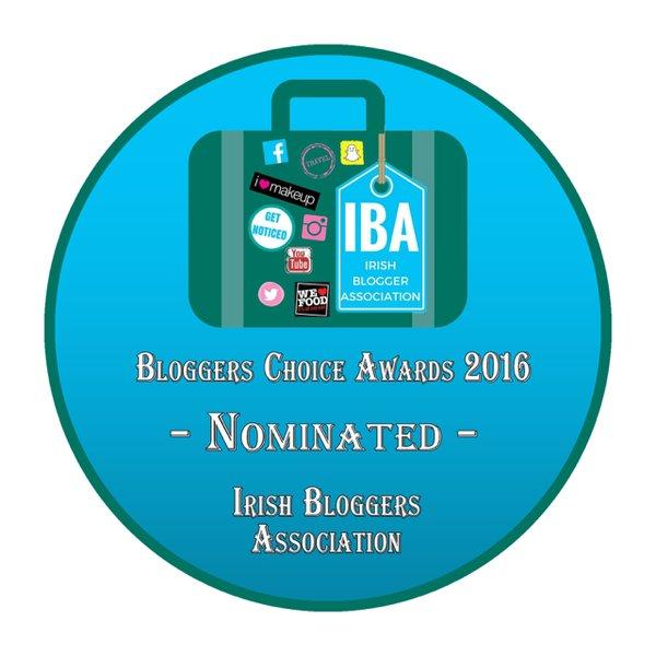 Bloggers Choice Awards Nominee 2016