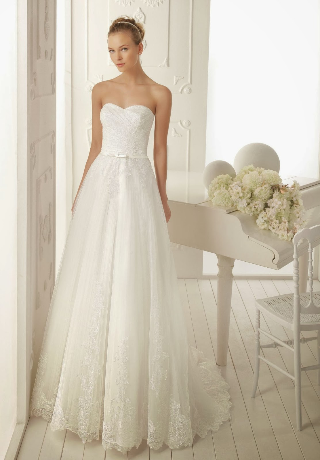 WhiteAzalea Simple Dresses Simple Lace Wedding Dresses