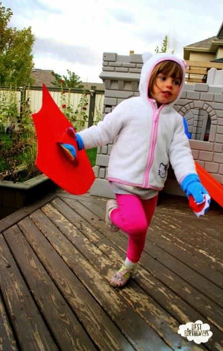 Easy Party Activity: Make a Superhero Shield!  |  Best Birthdays