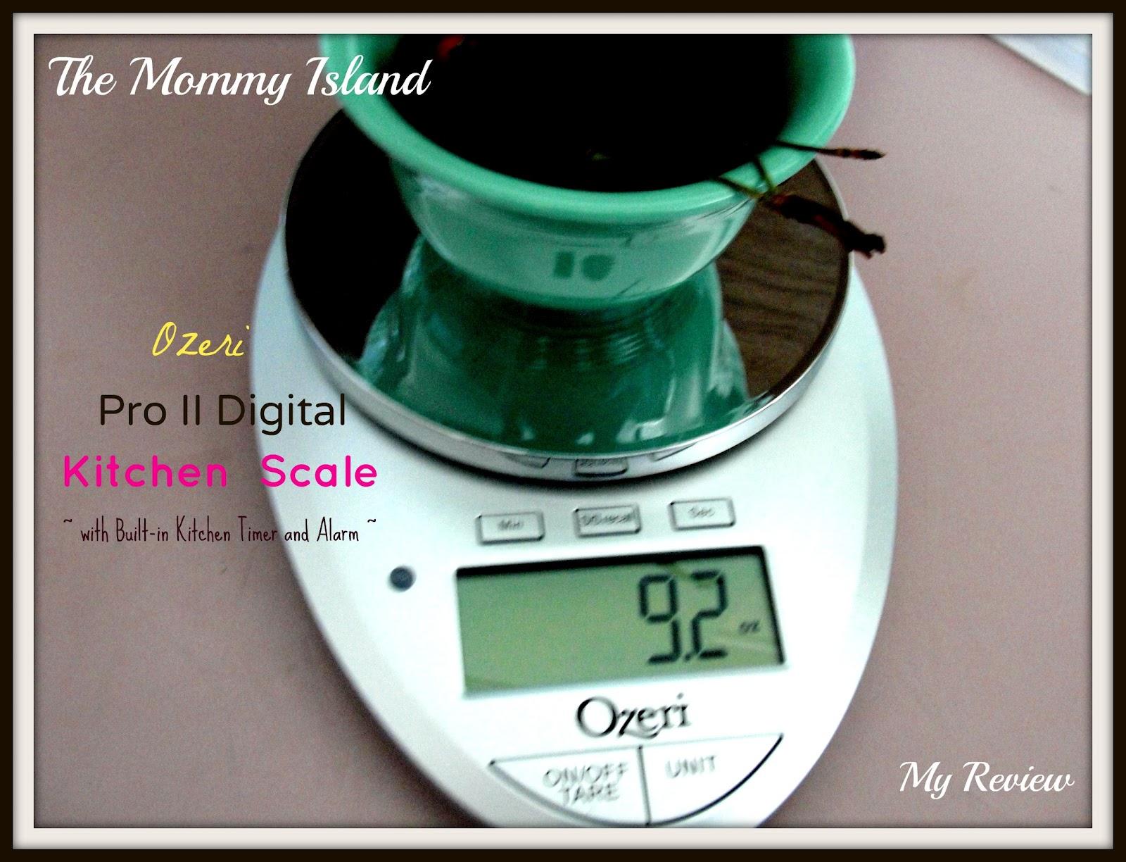 Ozeri Pro Ii Digital Kitchen Scale Review