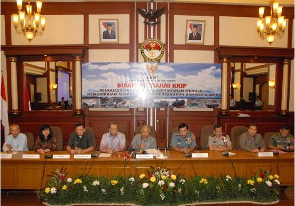 Komite Kebijakan Industri Pertahanan (KKIP) Gelar Sidang Pleno Ke-VII