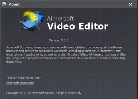 Aimersoft-Video-Editor-3.6.0.1