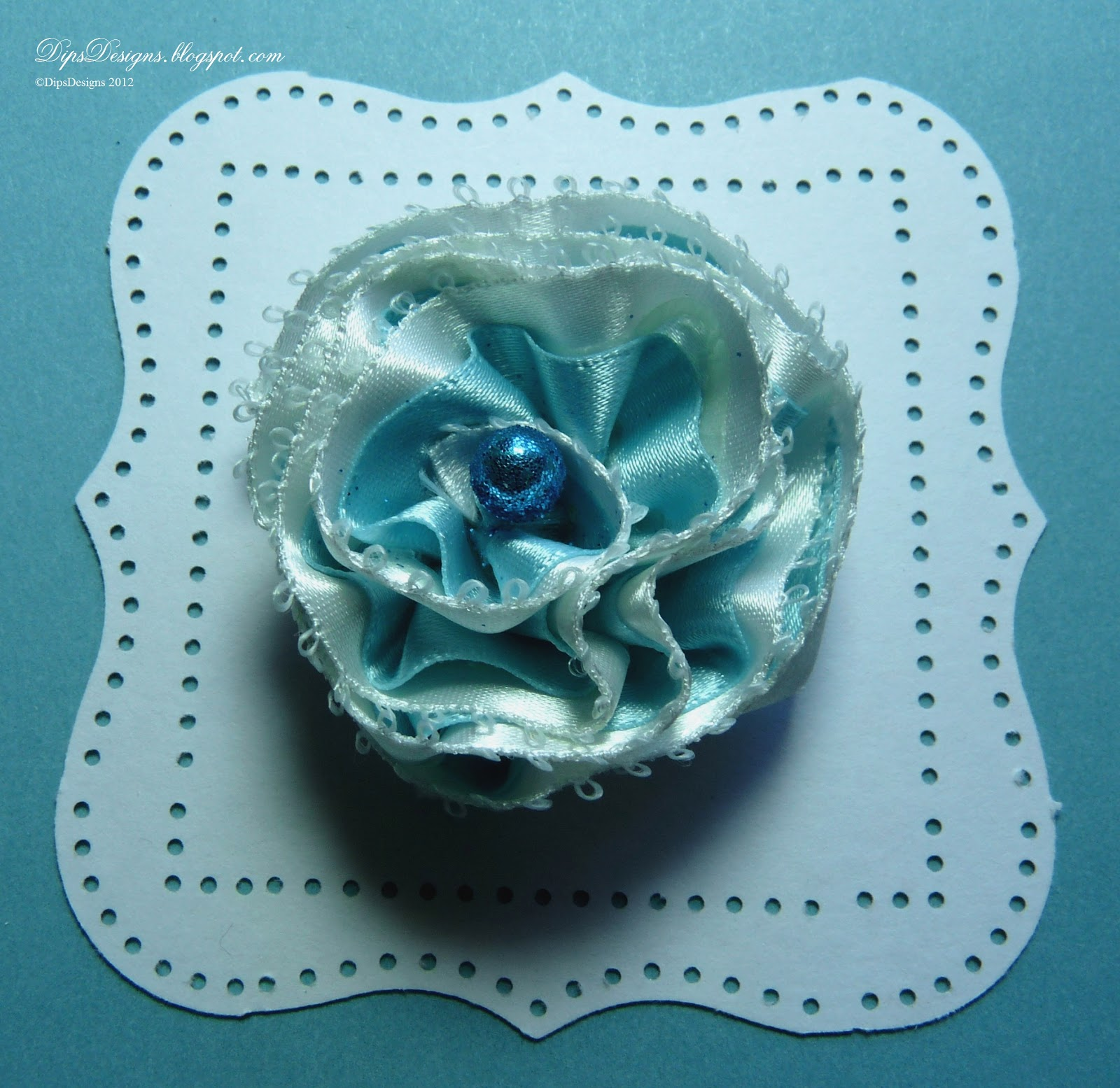 Dipsdesigns ribbon flowers with a twist tutorial i am a self confessed ribbon aholic so i love the current trend for ribbon flowers with all the beautiful ribbon to choose from you need never make the izmirmasajfo