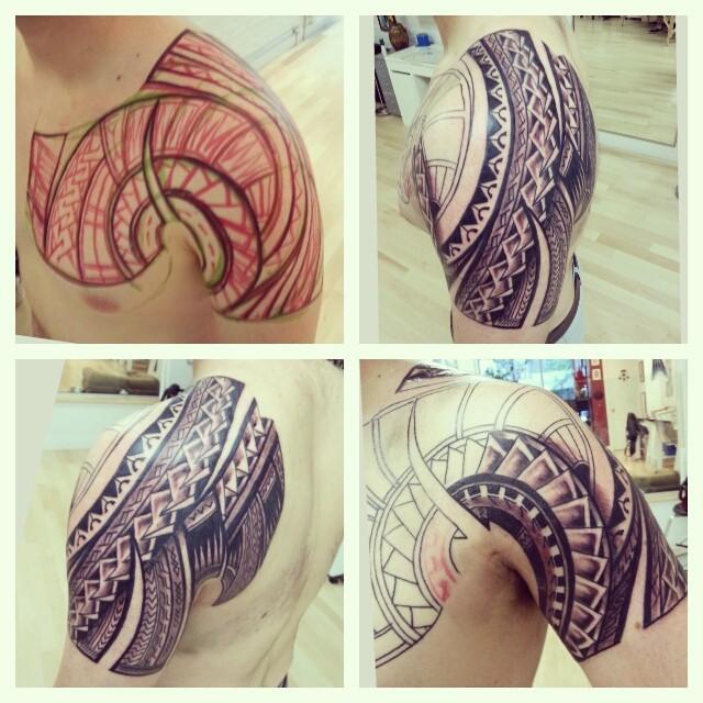 dessin tatouage polynésien - Le sens des symboles de tatouage Polynésiens