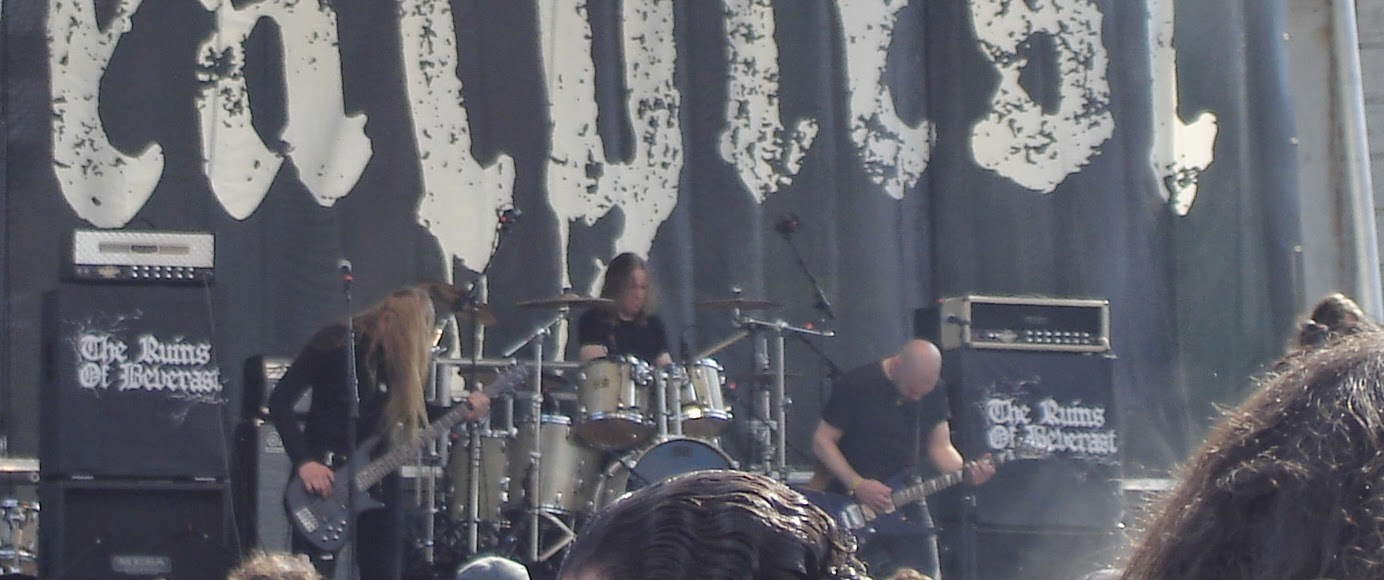 The Ruins of Beverast performing at Maryland Deathfest XII