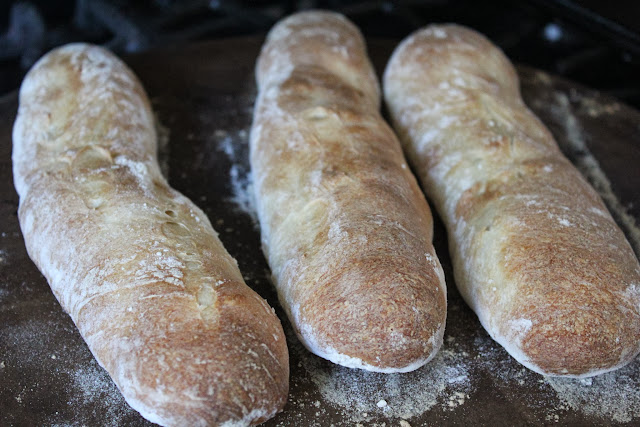 Vegetable demi-baguettes