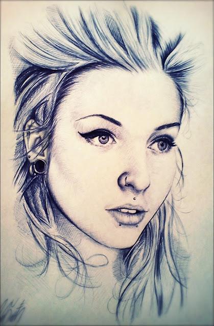 Ballpoint Pen Portraits5