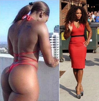 Serena williams booty
