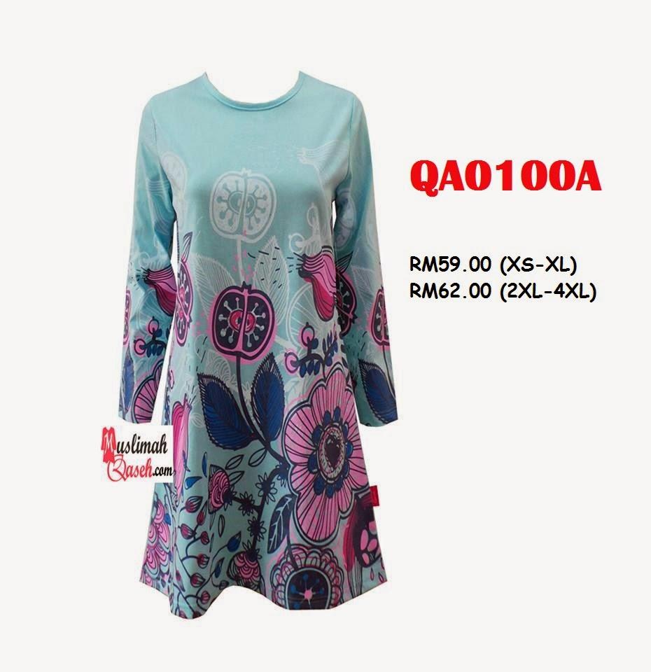 T-Shirt-Muslimah-Qaseh-QA0100A