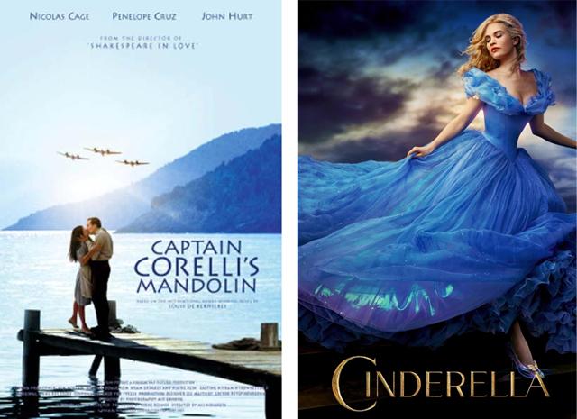 Captain Corelli's Mandolin 2015 Cinderella poster