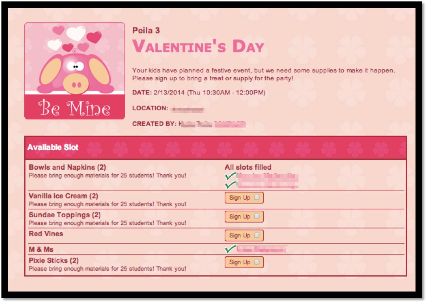 Classroom Valentine S Day Parent Letter  WallsKid