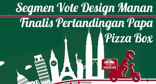 banner, Segmen Vote Design Manan
