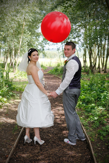 Red Balloon for Wedding