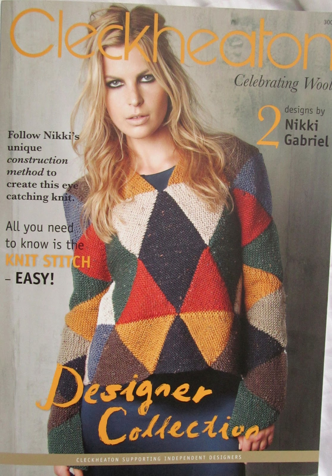 nikki gabriel: Triangle Knitting Construction Pattern