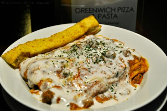 Lasagna Supreme from Greenwich Pizza and Pasta SM Fairview Foodcourt