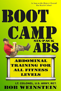 Boot Camp Six-Pack Abs, Book by Lt. Colonel Bob Weinstein