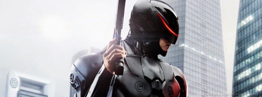 Robocop Movie 2014 Facebook Timeline Cover