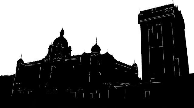 taj hotel silhouette