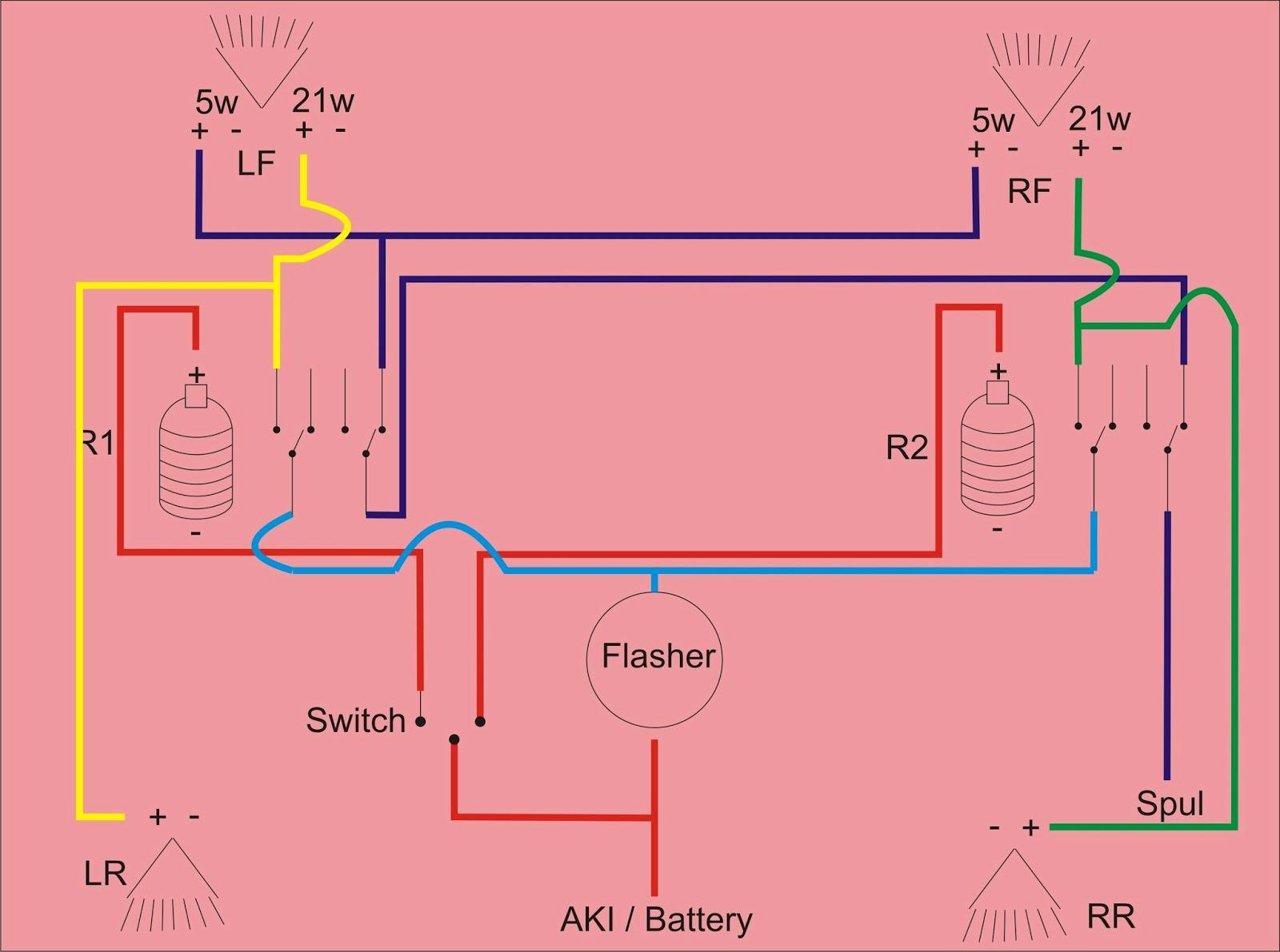 wiring diagram kelistrikan yamaha mio wiring image informasi tentang binter merzy membuat lampu senja sederhana ala on wiring diagram kelistrikan yamaha mio