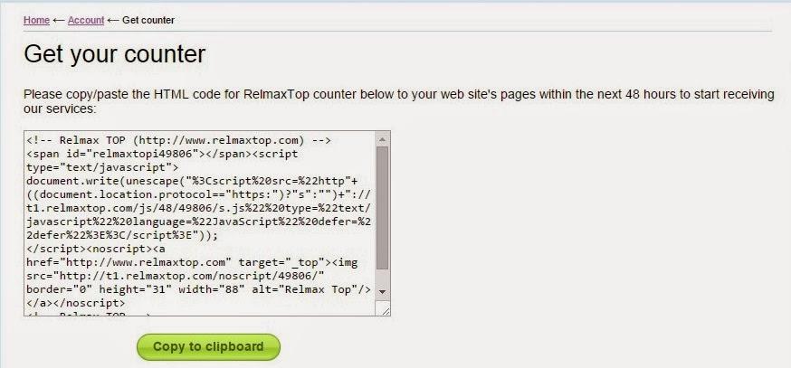 Cara Mudah & Gratis Menambahkan Widget Ranking untuk Blog/website