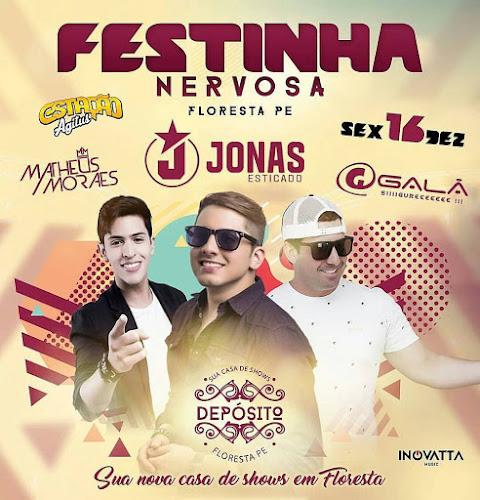 Festinha Nervosa em Floresta - PE 16 de Dezembro 2016