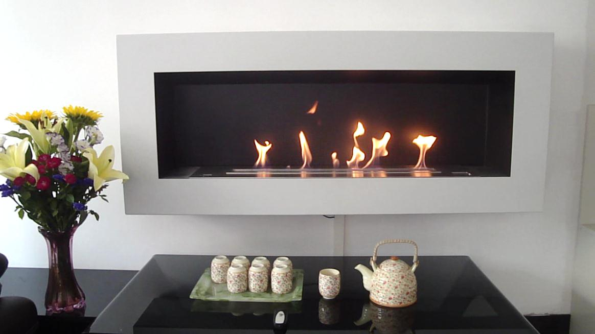 A fire ventless bio ethanol fireplaces and burners with - Chimeneas de bioetanol ...