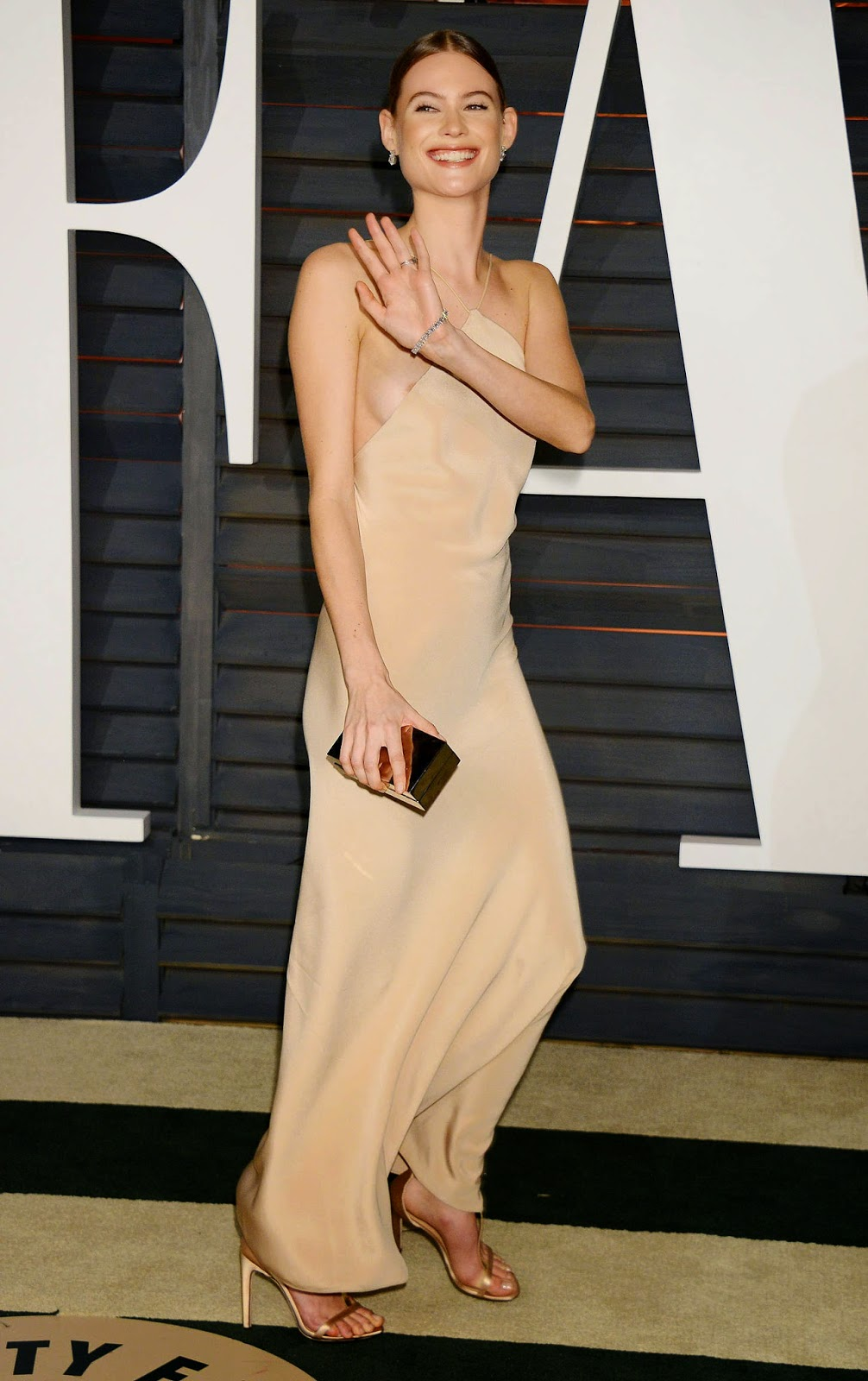 Behati Prinsloo – 2015 Vanity Fair Oscar Party in Hollywood