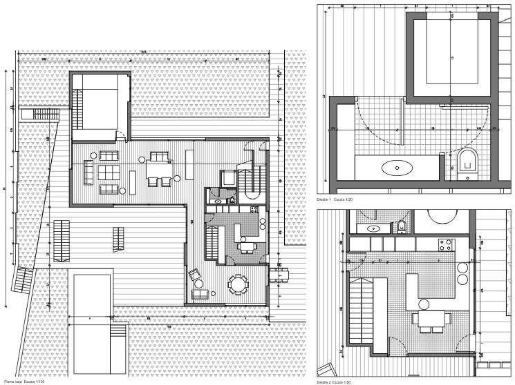 Planos casas una planta affordable with planos casas una planta excellent planos casas una - Planos casas planta baja ...