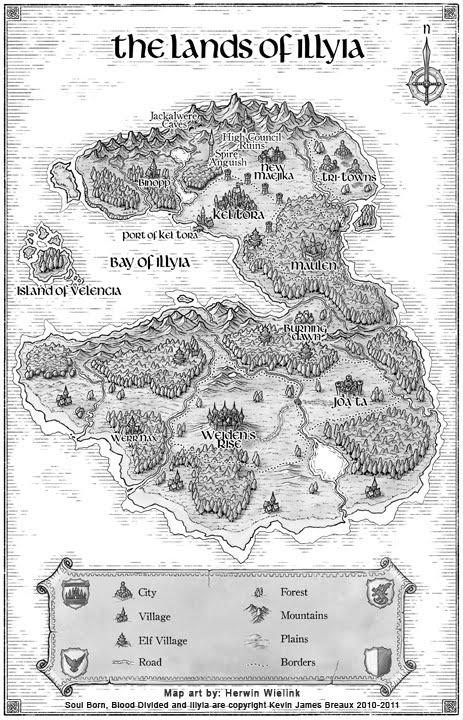 Soul Born Map