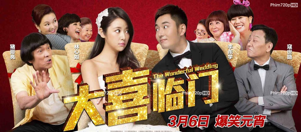 Đại Hỷ Lâm Môn - The Wonderful Wedding (2015) HD