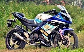 foto modifikasi motor yamaha yzf-r15