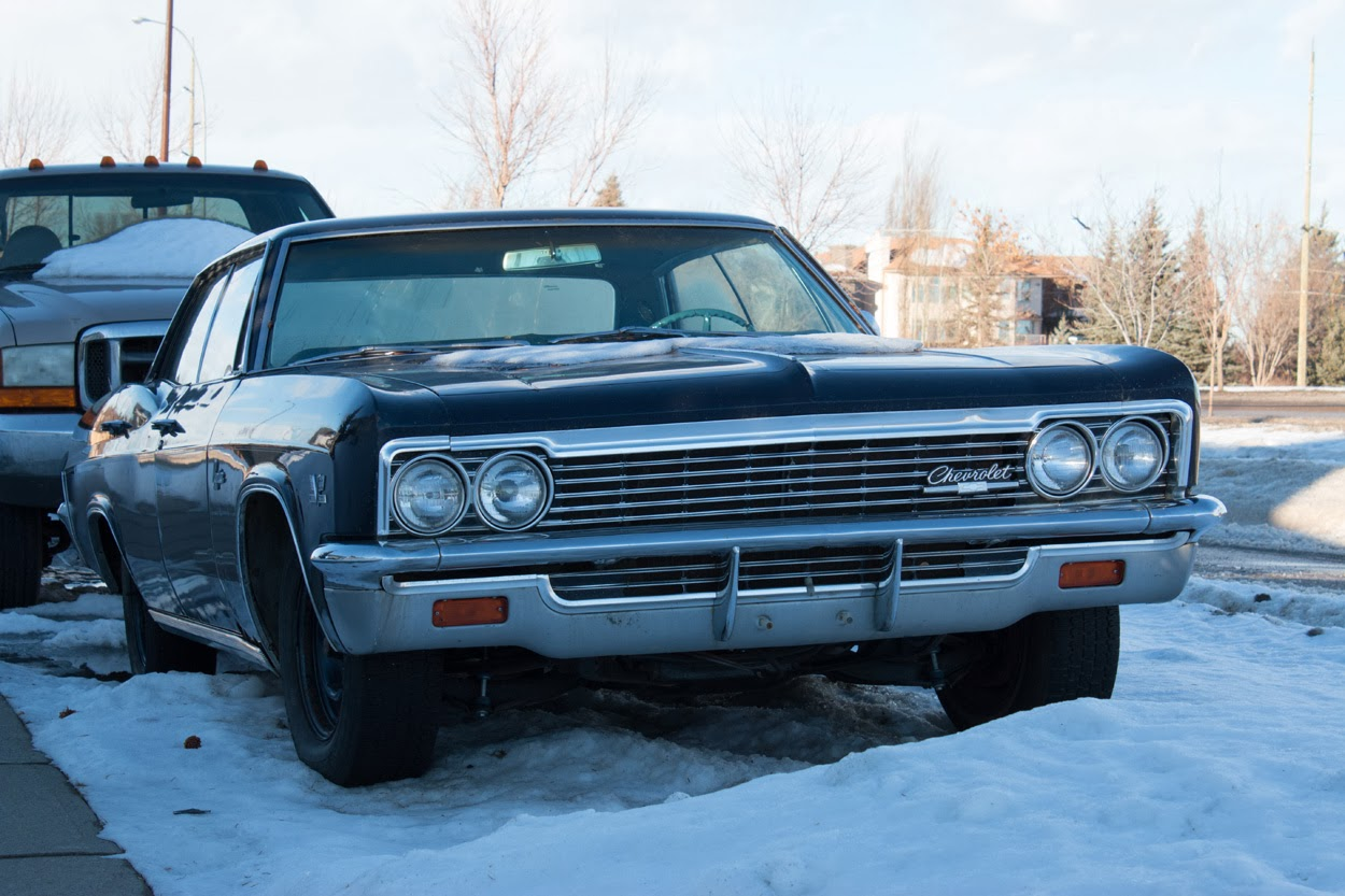 The Life Mechanical Found In Wild Almost Supernatural 1966 Chevrolet Caprice 2 Door As Many Of You Already Know Weather Here Calgary Has Been Pretty Nasty This Winters Arctic Temperatures And Record Snowfall Kept Most Classics