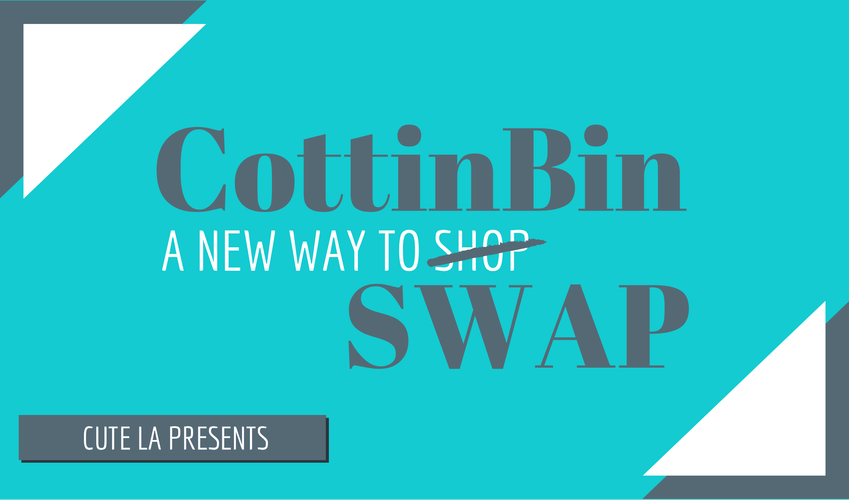 Cottonbin allows you to swap clothes online with others