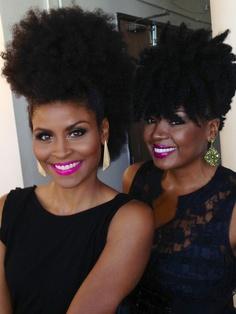 femme black tendance afro naturelle coiffure