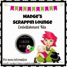 Madge's Scrappin Lounge Embellishment Kits