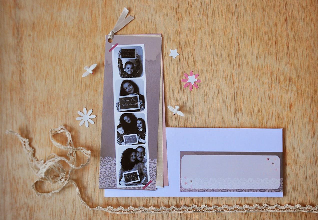 faire part de mariage photomaton photos sur mesure 300gr 4 volets photomaton carton principal carton repas rsvp musiques et adresses - Faire Part Photomaton Mariage