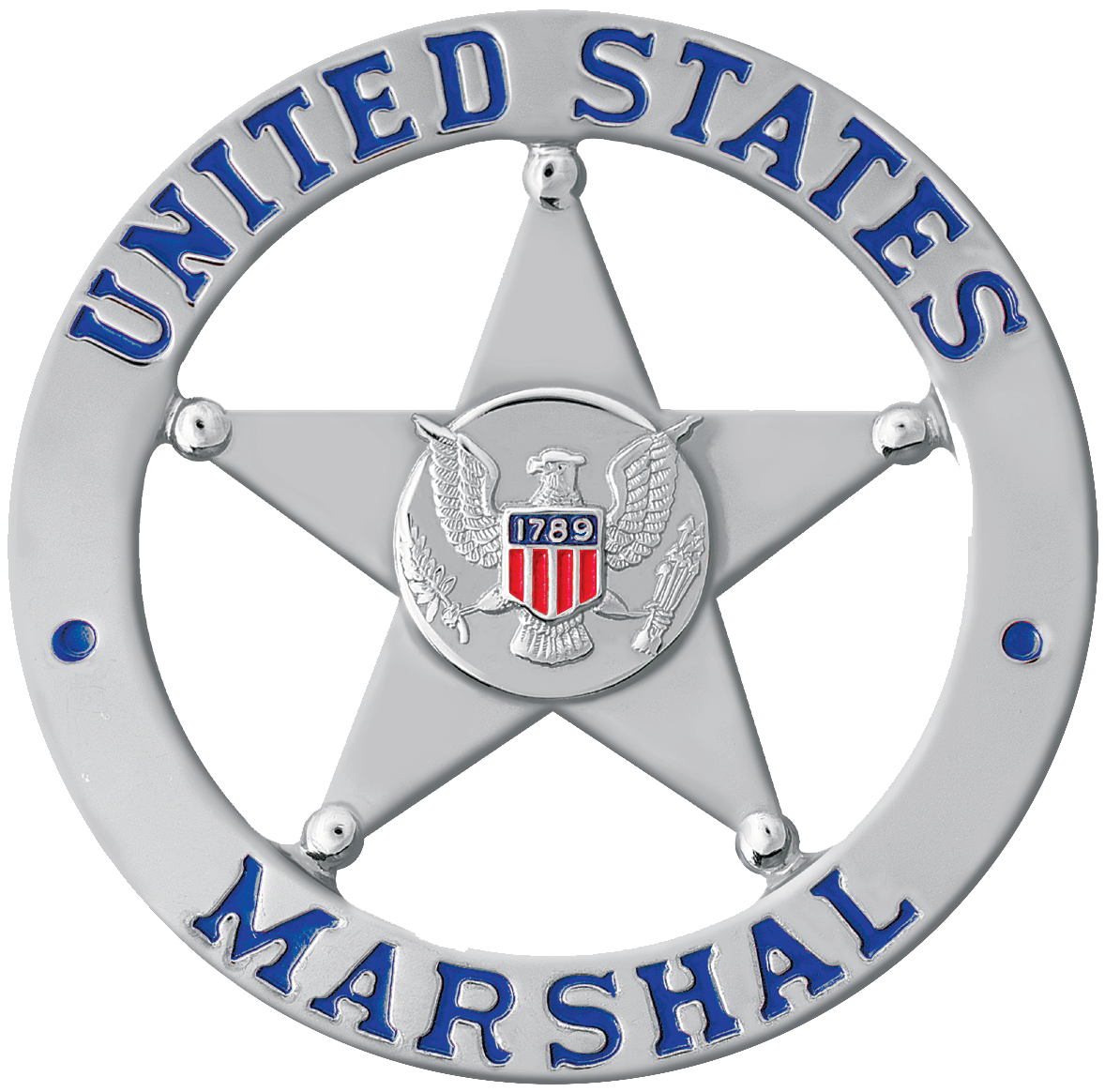 United States Marshall badge