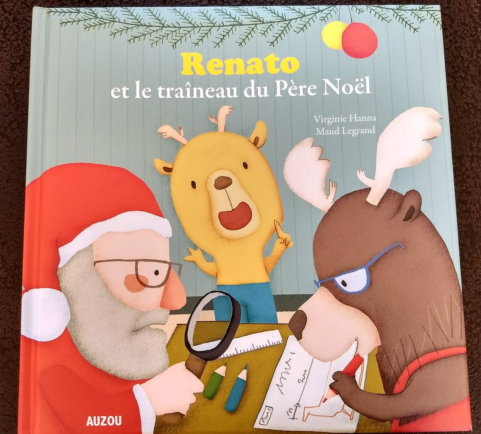 Renato et le traîneau du Père Noël