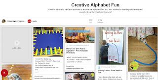 https://www.pinterest.com/LSSchachter/creative-alphabet-fun/