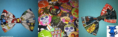 Marvel DC comic sugar skull Wonder Woman Star Wars accessories girly gifts