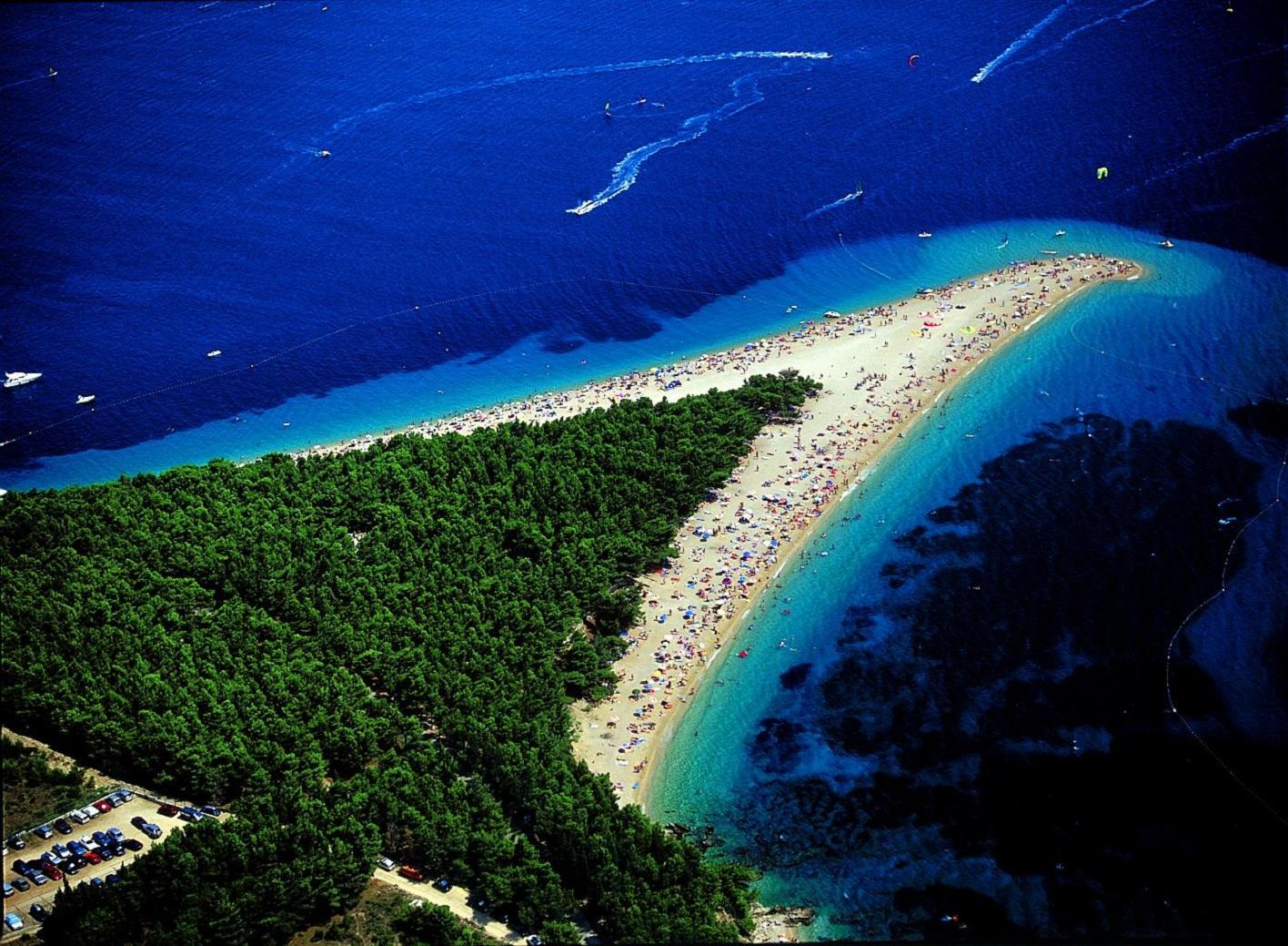 Zlatni rat beach - Bol island Brac Croatia